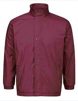 Burgundy Reversible Fleece
