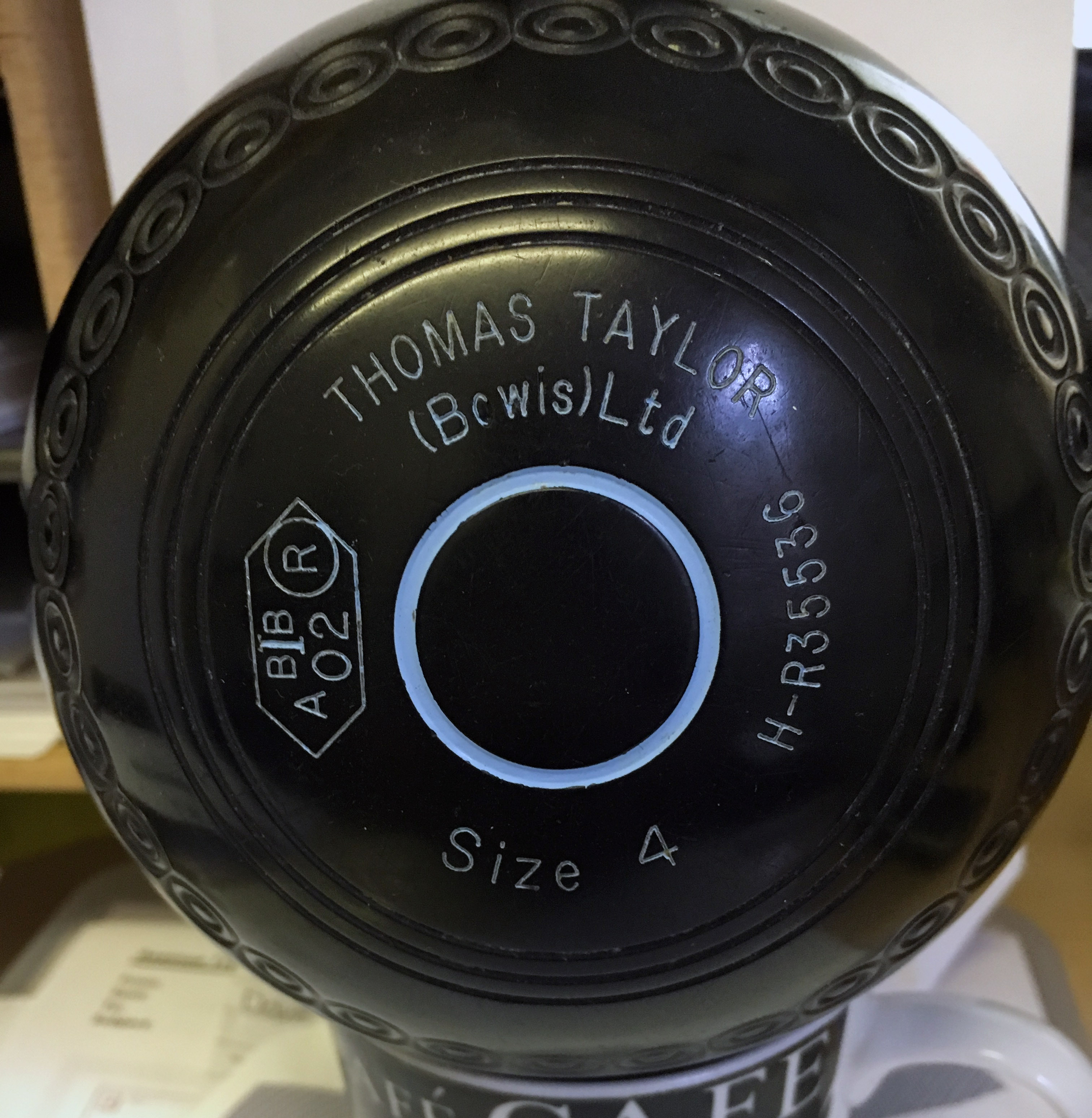 Lawn bowls all brands bush hill bowls shop sh taylor lignoid 4h stamped 2002 geenschuldenfo Choice Image