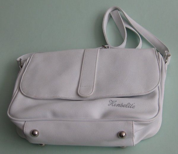 Henselite Rinkside leather handbag