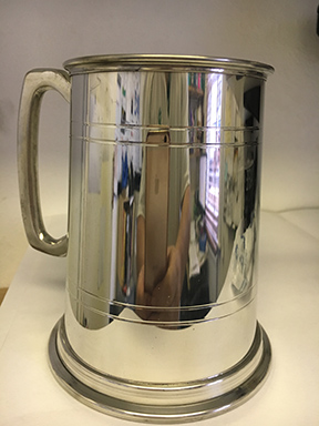 Pewter Tankard Trophy