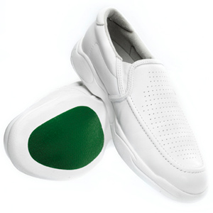 Taylor Mens MODZ slip-on Shoe WHITE