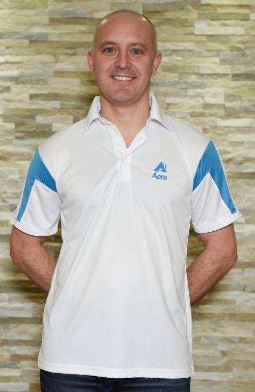 Aero Bowls Shirt Blue Trim