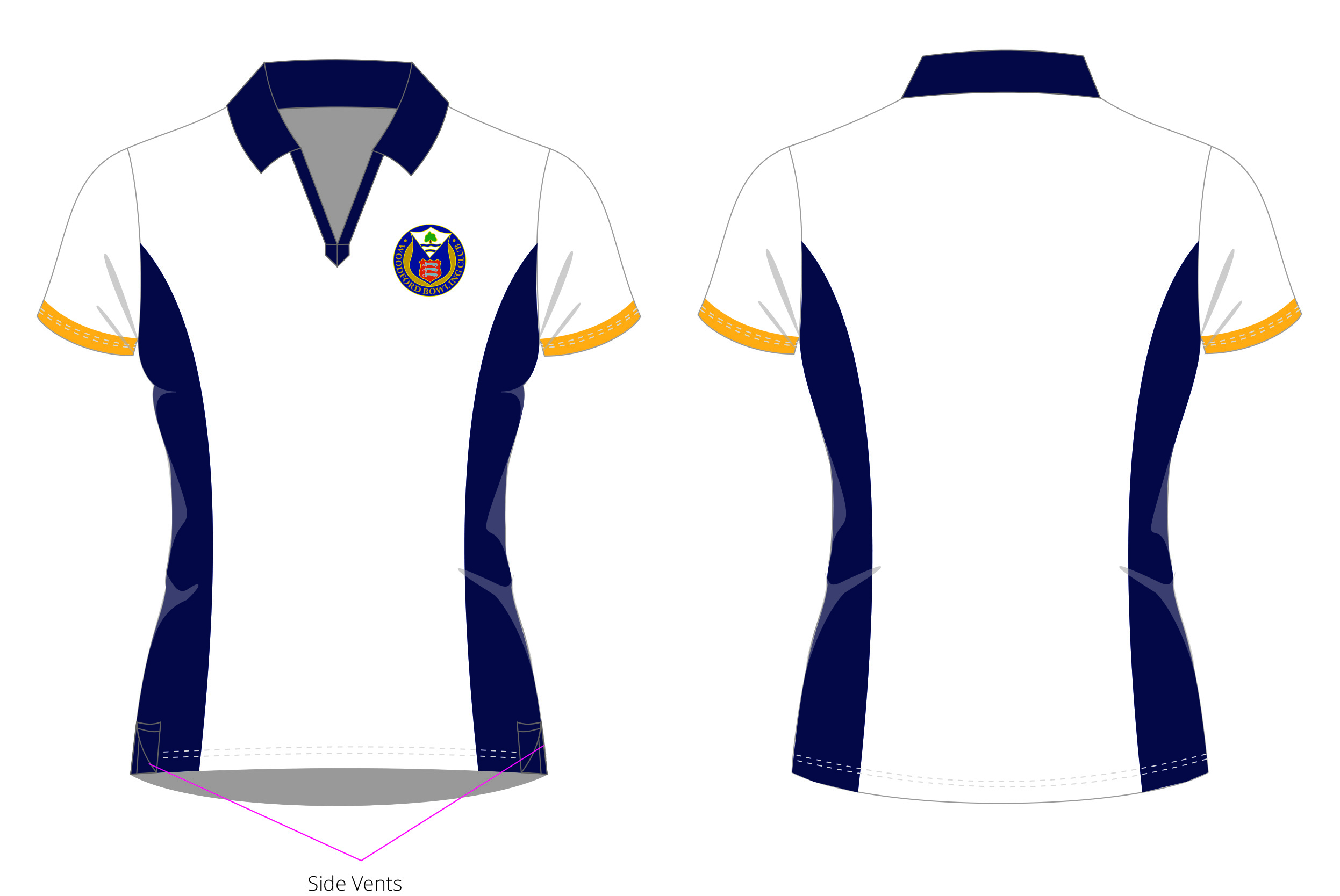 Woodford BC Ladies Club Shirt