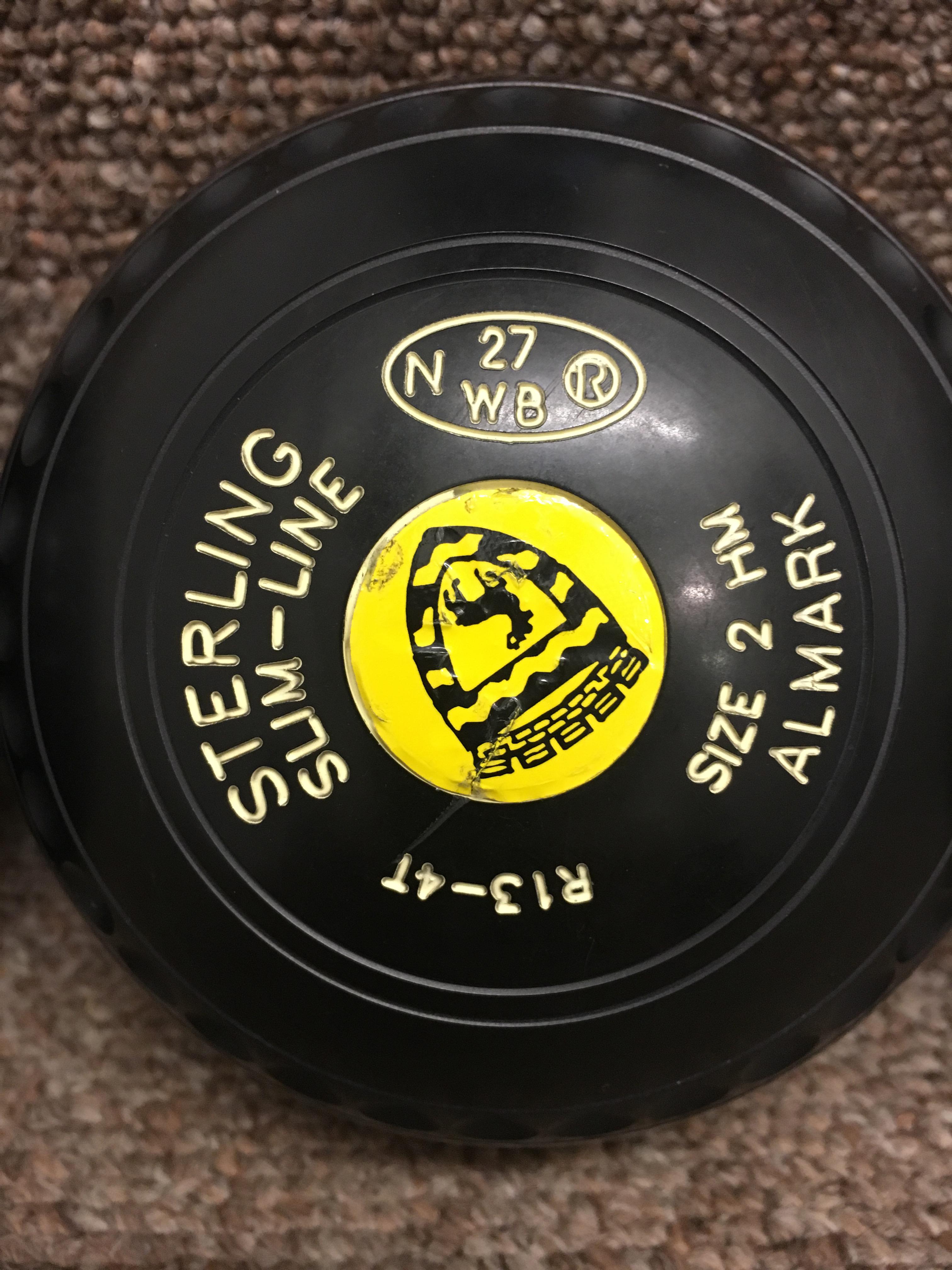(2H) Almark Slimline 2H Black 27 Stamp