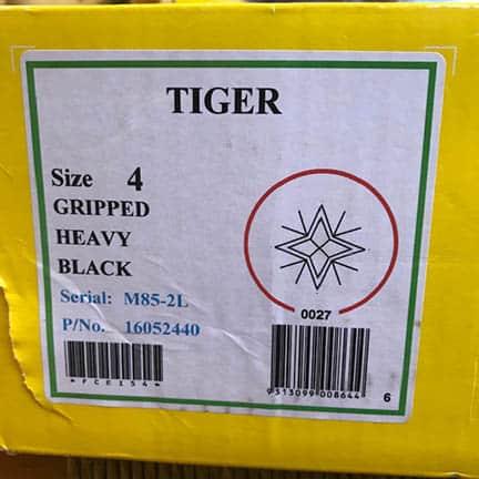 (SH) Henselite Tiger Black Size 4