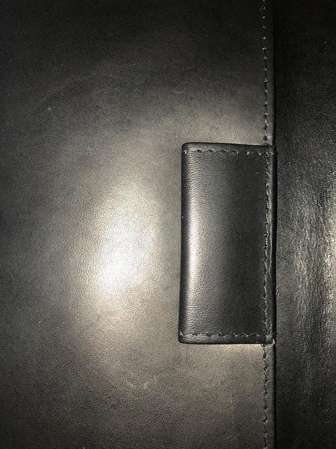 Leather Scorecard Holder Overprinted