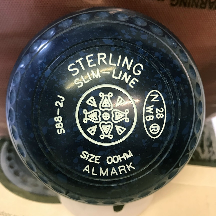 Almark Stirling Slimline 00HM Midnight Blue - ex Demo