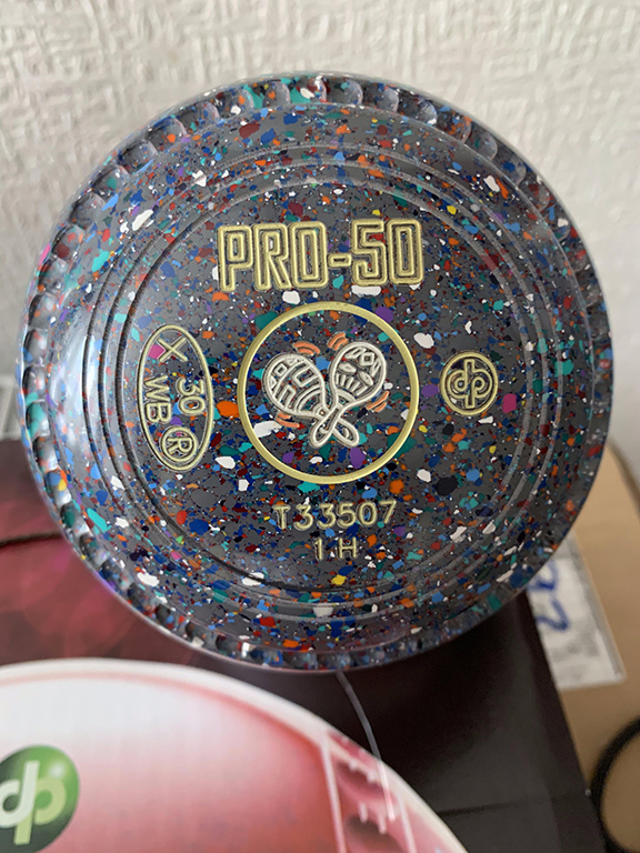 In stock DP Pro 50 Grey Harlequin 1H
